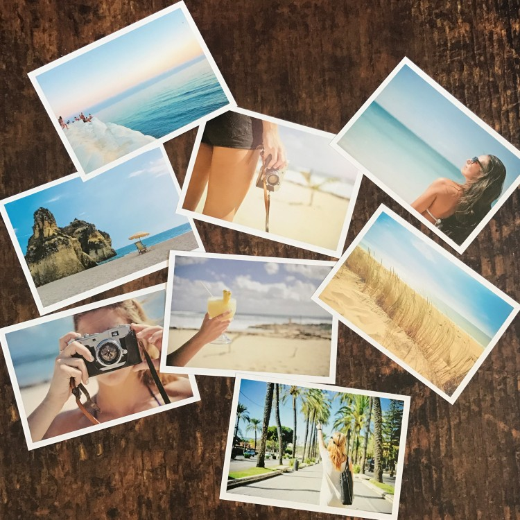 Ultra Thick Premium Photo Print Cards - Landscape - Pack Of 8
